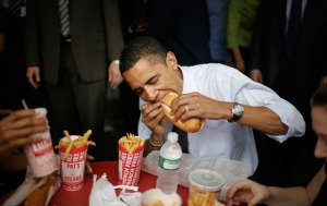 Even the President Barack Obama has to eat right.